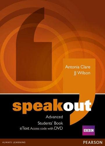 Speakout Advanced Students Book Etext Access Card: Wilson, Mr J