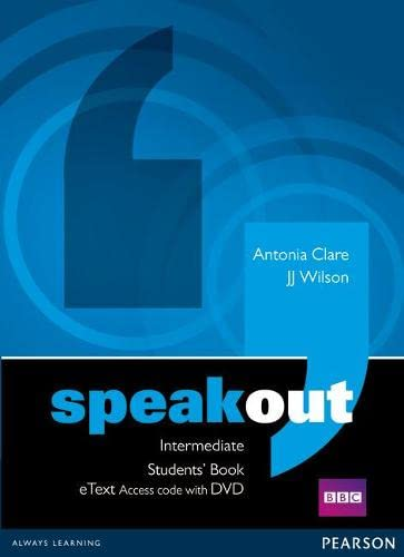 9781447941903: Speakout Intermediate Students' Book eText Access Card with DVD