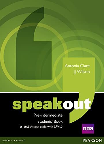 9781447941934: Speakout Pre-Intermediate Students' Book eText Access Card with DVD