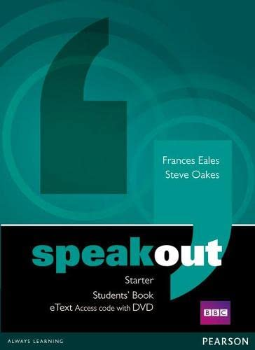 9781447941965: Speakout Starter Students' Book eText Access Card with DVD