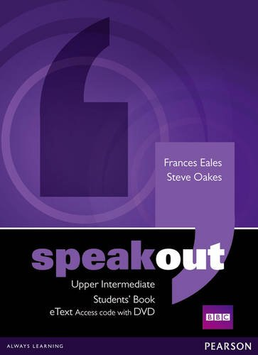 9781447941989: Speakout Upper Intermediate Students' Book eText Access Card with DVD