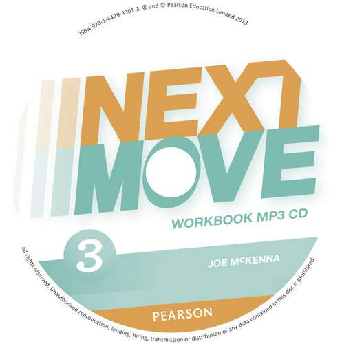 9781447943013: Next Move 3 Workbook MP3 for Pack