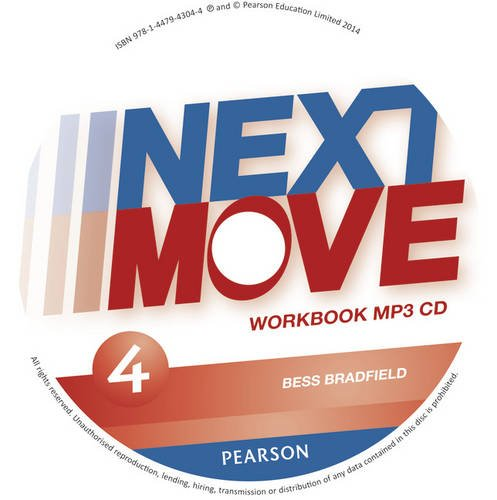 9781447943044: Next Move 4 Workbook MP3 for pack