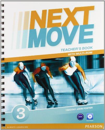 9781447943624: Next move. Teacher's book. Con espansione online. Per le Scuole superiori. Con Multi-ROM: 3