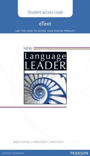 9781447948285: New Language Leader Intermediate Teacher's Etext Access Card