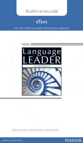 9781447948285: New Language Leader Intermediate Teacher's Etext Access Card