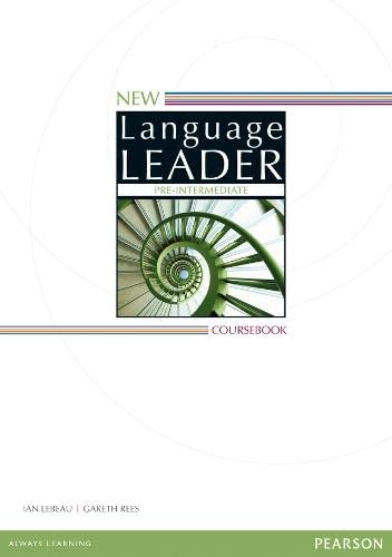 9781447948650: New Language Leader Pre-intermediate Coursebook for Pack