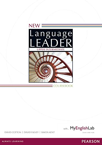 9781447948681: New Language Leader Upper Intermediate Coursebook for MyEnglishLab Pack