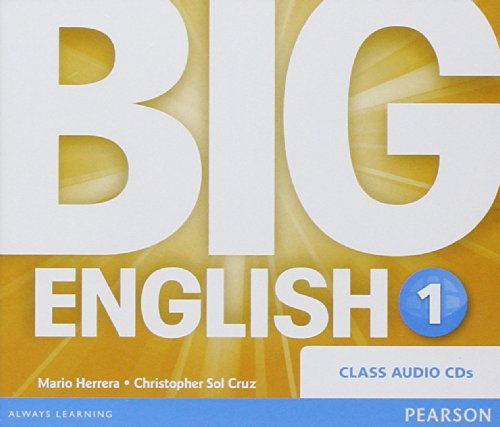 9781447950547: Big English 1 Class Audio