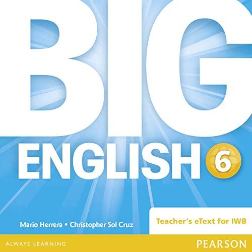 9781447950950: Big English 6 Teacher's eText CD-Rom