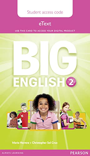 9781447951131: Big English 2 Pupil's eText Access Code