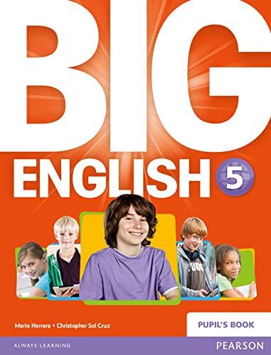 9781447951308: Big english. Student's book. Per la Scuola elementare. Con espansione online: Big English 5 Pupils Book stand alone: 6 (BIGI)