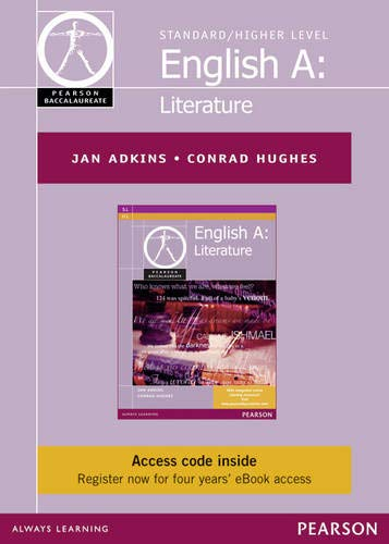 Pearson Baccalaureate English A: Literature Ebook Only Edition for the IB Diploma (etext) (Pearson ...