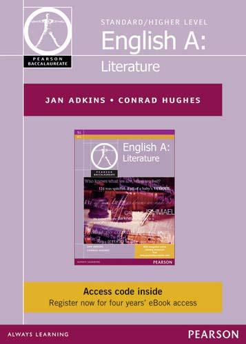 Pearson Baccalaureate English A: Literature ebook only: Jan Adkins, Conrad