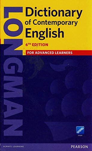 9781447954095: Longman Dictionary of Contemporary English 6 Cased and Online