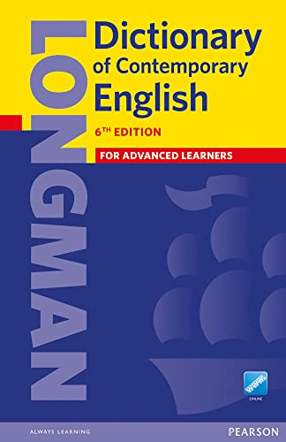 9781447954200: Longman Dictionary of Contemporary English 6 Paper and online
