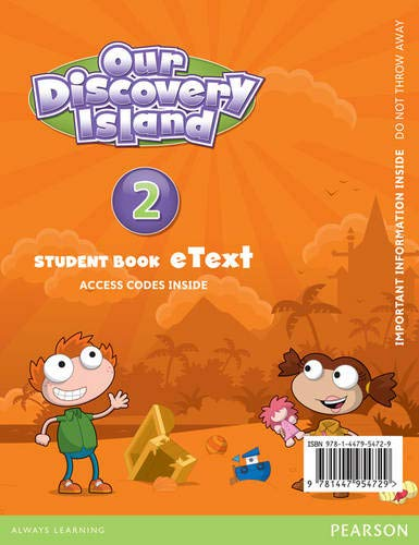 9781447954729: Our Discovery Island American English 2 eText Students Book Access Card