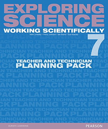 9781447959632: Exploring Science: Working Scientifically Teacher & Technician Planning Pack Year 7 (Exploring Science 4)