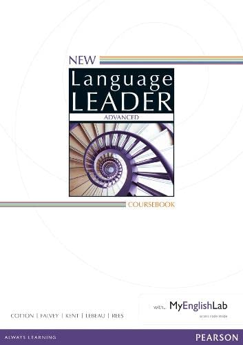9781447961420: New Language Leader Advanced Coursebook with MyEnglishLab Pack