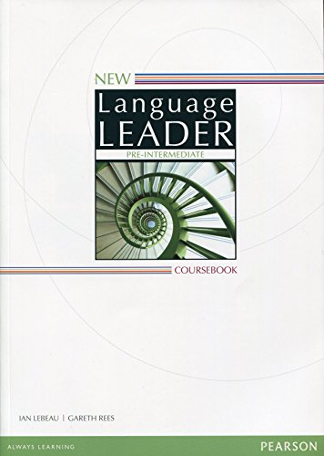 9781447961529: New language leader. Pre-intermediate. Coursebook. Con espansione online. Per le Scuole superiori