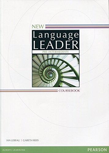 New Language Leader: New Language Leader Pre-Intermediate: Gareth Rees, Ian
