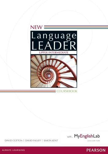 9781447961543: New Language Leader Upper Intermediate Coursebook with MyEnglishLab Pack