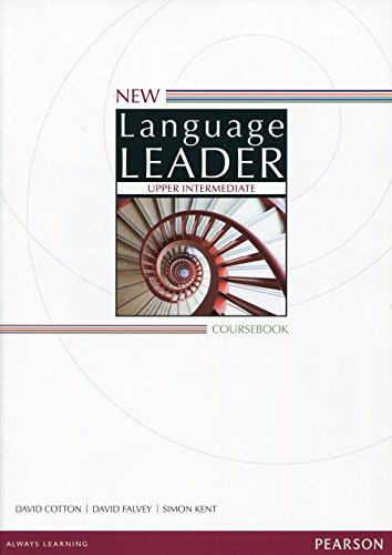 9781447961550: New language leader. Upper intermediate. Coursebook. Con espansione online. Per le Scuole superiori