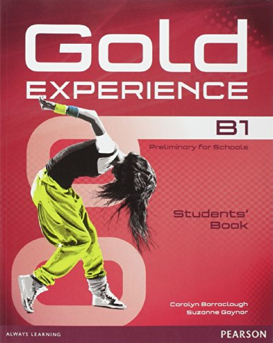 9781447961925: Gold Experience B1 Students' Book and DVD-ROM Pack