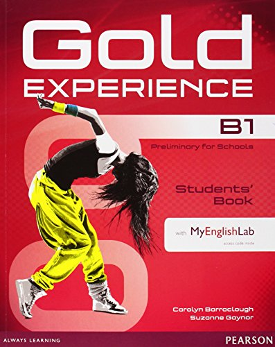 9781447961932: Gold Experience B1 Students' Book with DVD-ROM/MyLab Pack