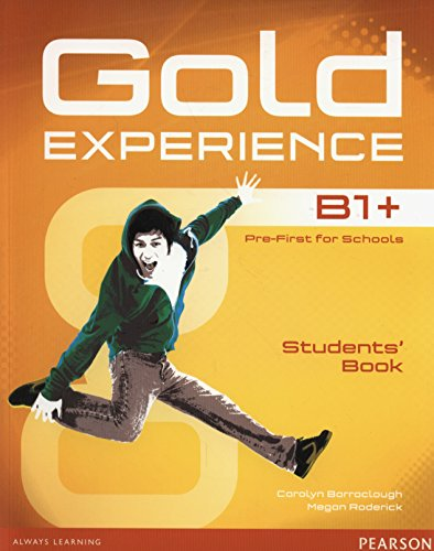 9781447961949: Gold Experience B1+ Students Book + DVD [Lingua inglese]