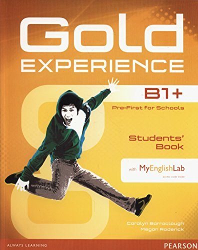 9781447961956: Gold Experience B1+ Students' Book with DVD-ROM and MyLab Pack