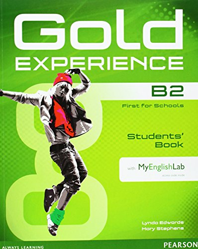 9781447961970: Gold Experience B2 Students' Book with DVD-ROM and MyLab Pack
