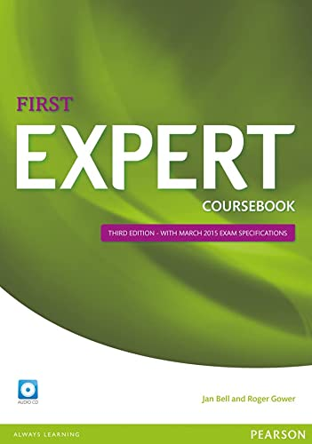 9781447962007: Expert First 3rd Edition Coursebook with CD Pack