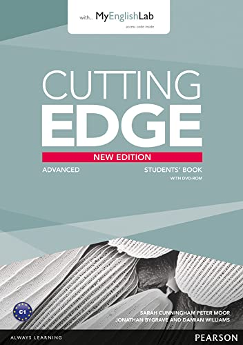 9781447962243: Cutting Edge Advanced New Edition Students' Book with DVD and MyLab Pack