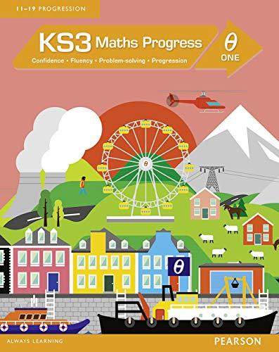 9781447962328: KS3 Maths Progress Student Book Theta 1: Confidence, Fluency, Problem-Solving, Progression (Maths Progress 2014)