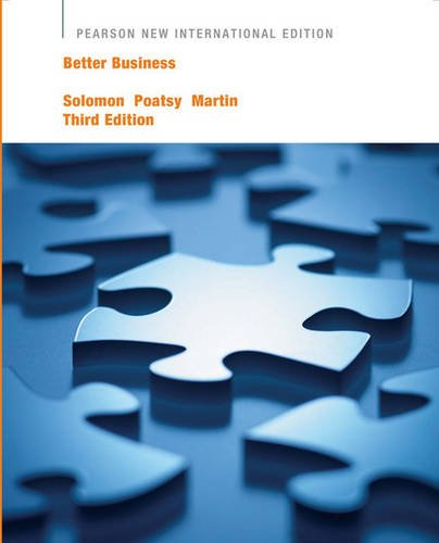 9781447963707: Better Business Pearson New International Edition, plus MyBizLab without eText