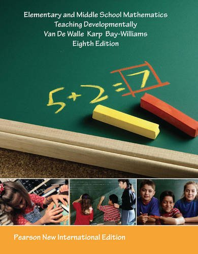 9781447963813: Elementary and Middle School Mathematics, Plus MyEducationLab without eText