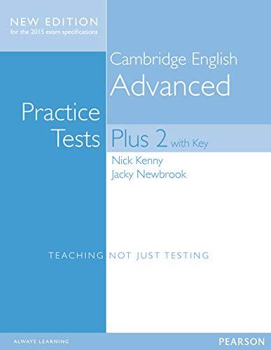 9781447966203: Cambridge advanced practice tests plus. Student's book with key. Con espansione online. Per le Scuole superiori