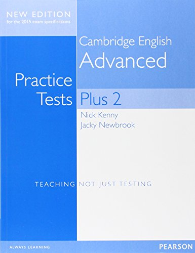 9781447966210: Cambridge Advanced Practice Tests Plus New Edition Students' Book without Key