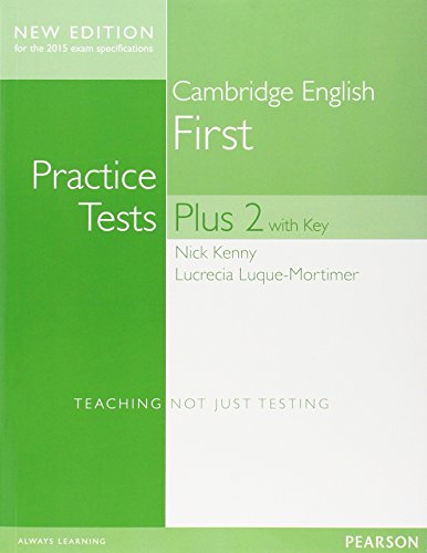 9781447966227: Cambridge First Practice Tests Plus New Edition Students' Book with Key [Lingua inglese]