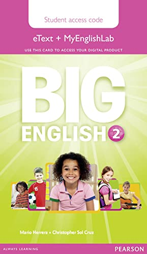9781447972563: Big English 2 Pupil's eText and MEL Access Code