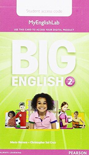 9781447972570: Big English 2 Pupil's MyEnglishLab Access Code (standalone)