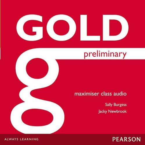 9781447973935: Gold Preliminary Maximiser Class Audio CDs