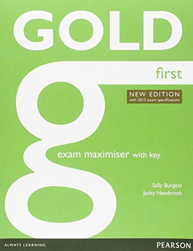 9781447974871: Gold first. Exam maximiser. With key. Con espansione online. Con CD. Per le Scuole superiori