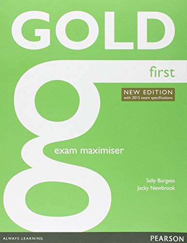 9781447974888: Gold first. Exam maximiser. No key. Per le Scuole superiori. Con CD Audio. Con e-book. Con espansione online