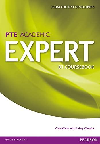 Expert Pearson Test of English Academic B1: Warwick, Ms Lindsay,