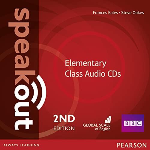 9781447976684: Speakout. Elementary. Per le Scuole superiori. Class CDs Audio