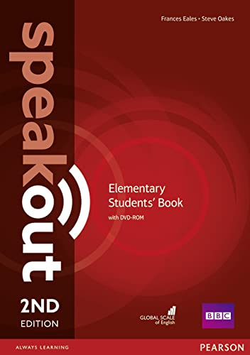 9781447976738: Speakout Elementary 2nd Edition Students' Book for DVD-ROM Pack