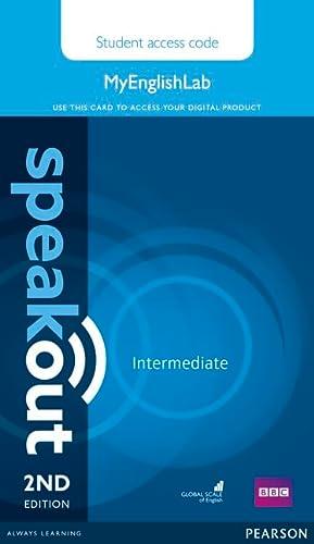 9781447976844: Speakout Intermediate MyEnglishLab Student Access Card