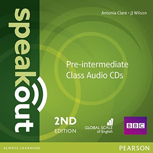 Speakout Pre-Intermediate 2nd Edition Class CDs (3): Antonia Clare